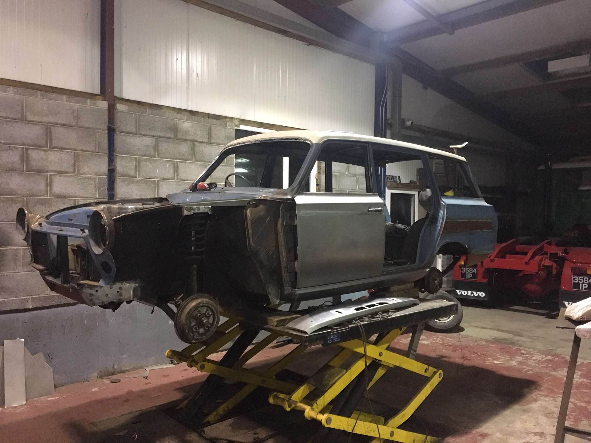 Ford Cortina Mk1 Car Restoration - Misc12