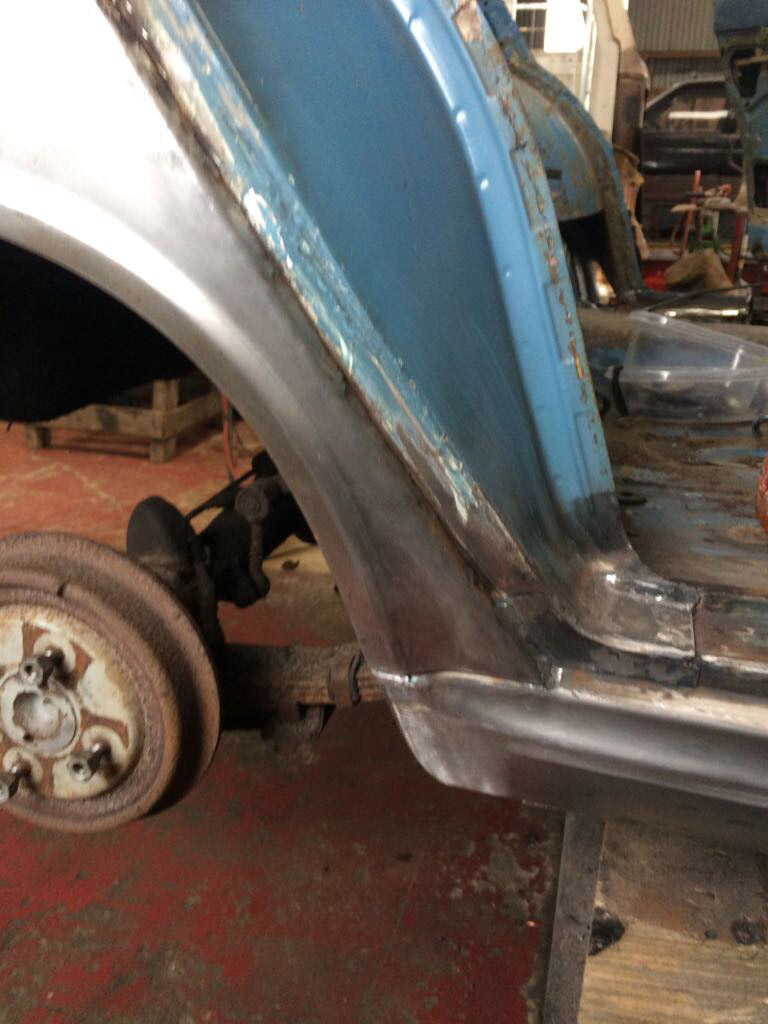 Ford Cortina Mk1 Car Restoration - Misc19
