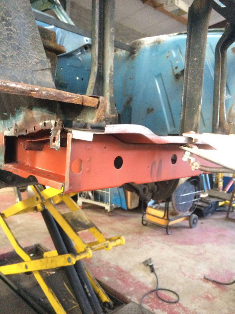 Ford Cortina Mk1 Car Restoration - Misc2