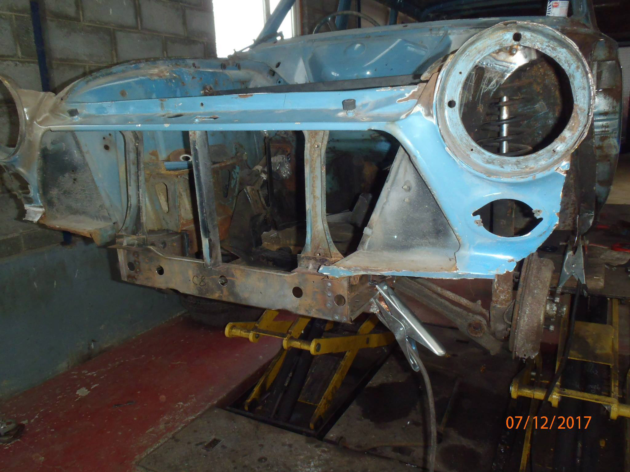 Ford Cortina Mk1 Car Restoration - Misc28