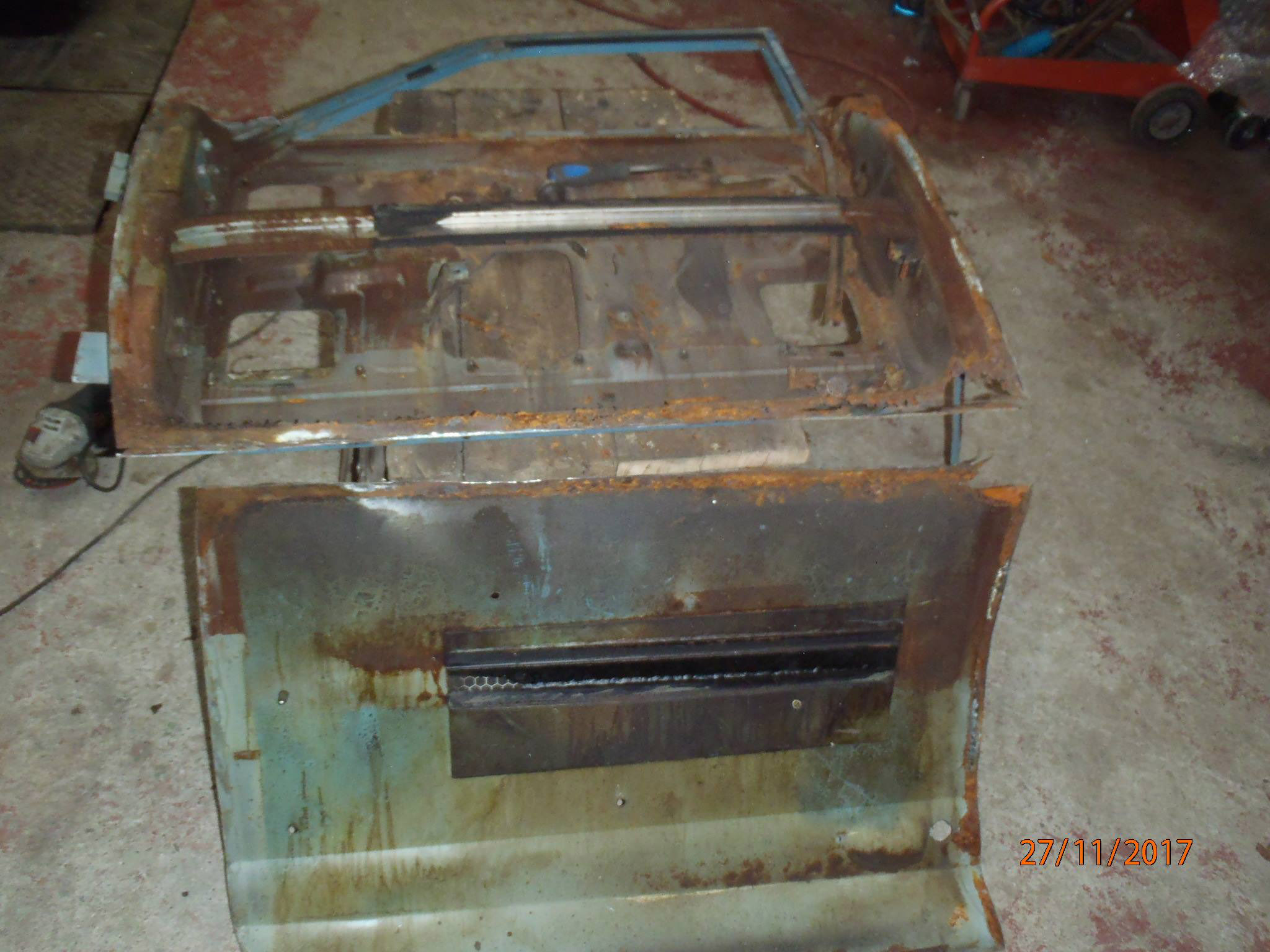 Ford Cortina Mk1 Car Restoration - Misc29