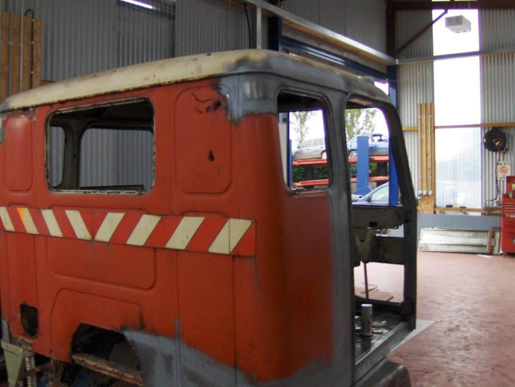 Volvo Truck Restoration V212