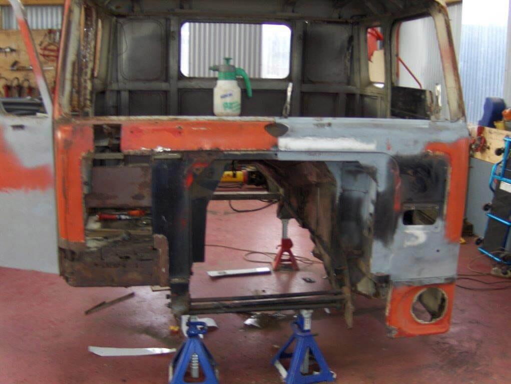 Volvo Truck Restoration V226