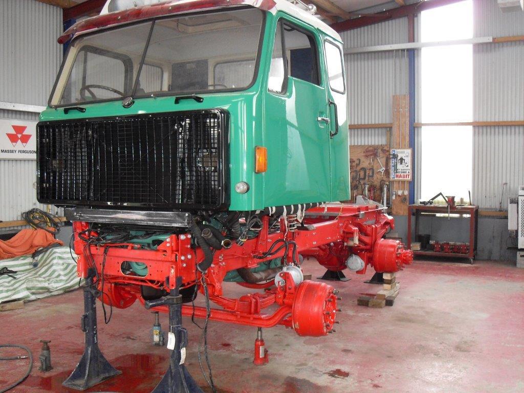 Volvo Truck Restoration - mid V211