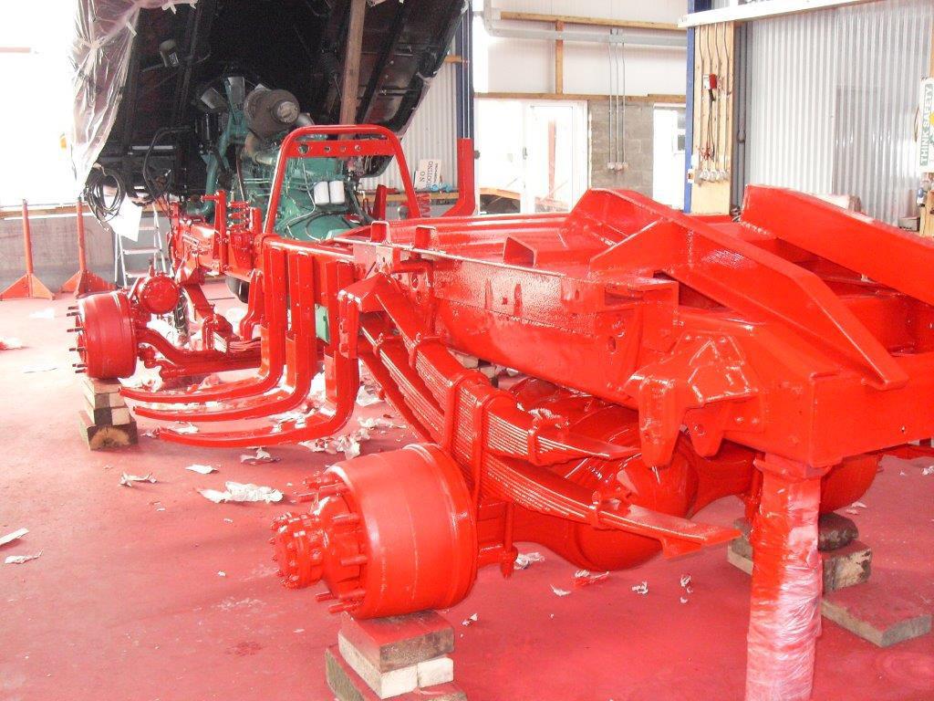 Volvo Truck Restoration - mid V219