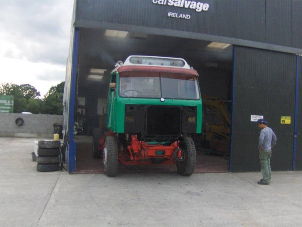 Volvo Truck Restoration - mid V22