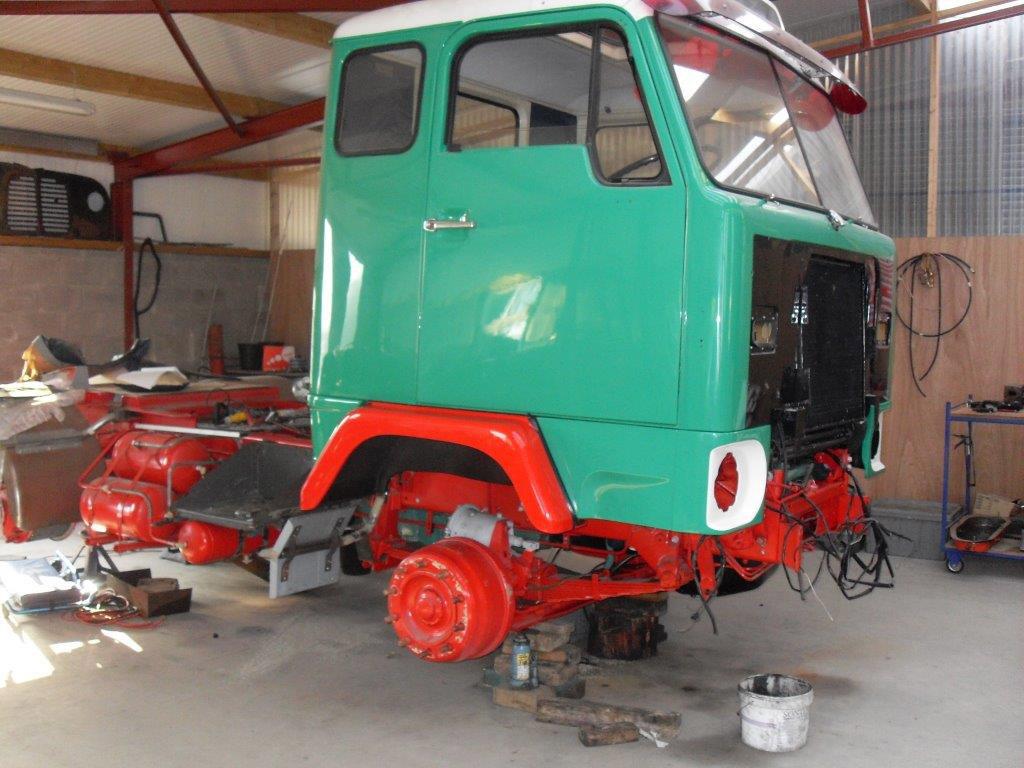 Volvo Truck Restoration - mid V223