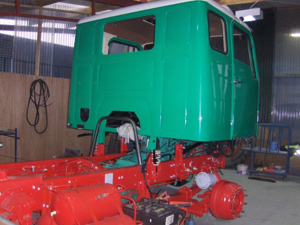 Volvo Truck Restoration - mid V225