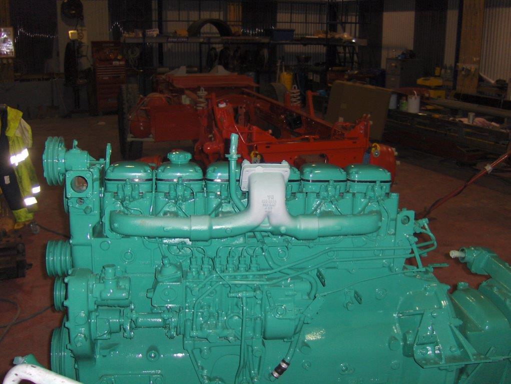 Volvo Truck Restoration - mid V23
