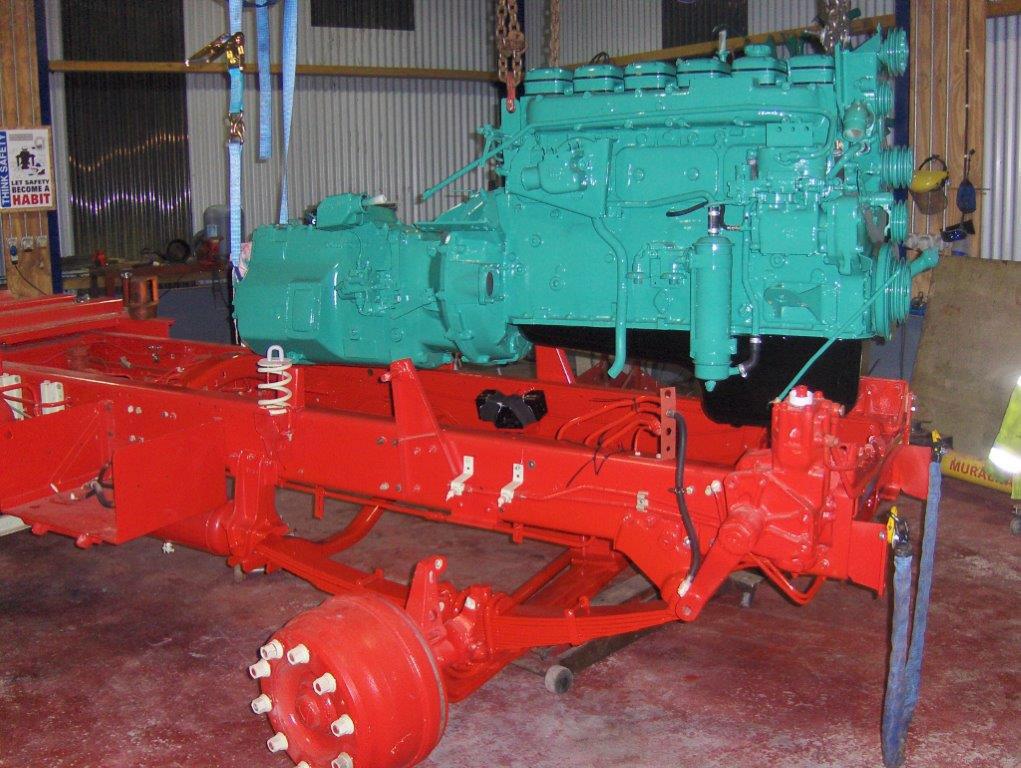 Volvo Truck Restoration - mid V26