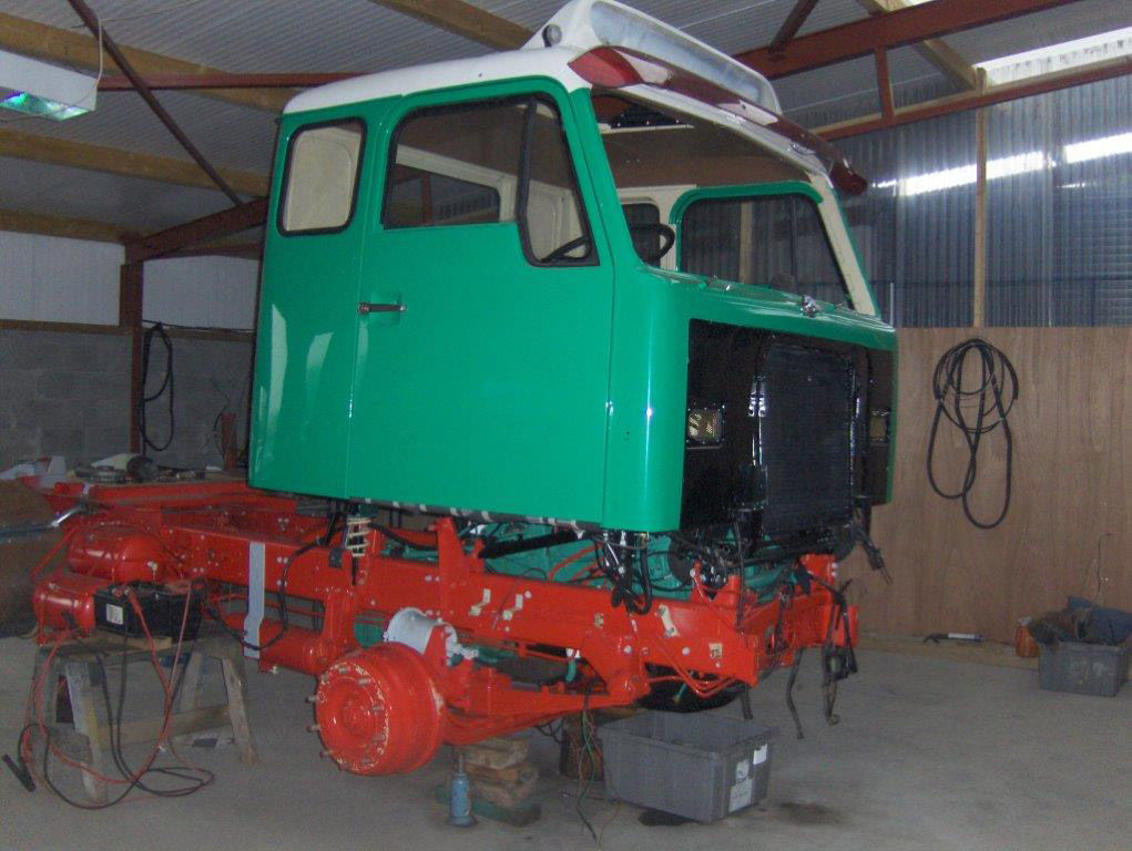 Volvo Truck Restoration - mid V28