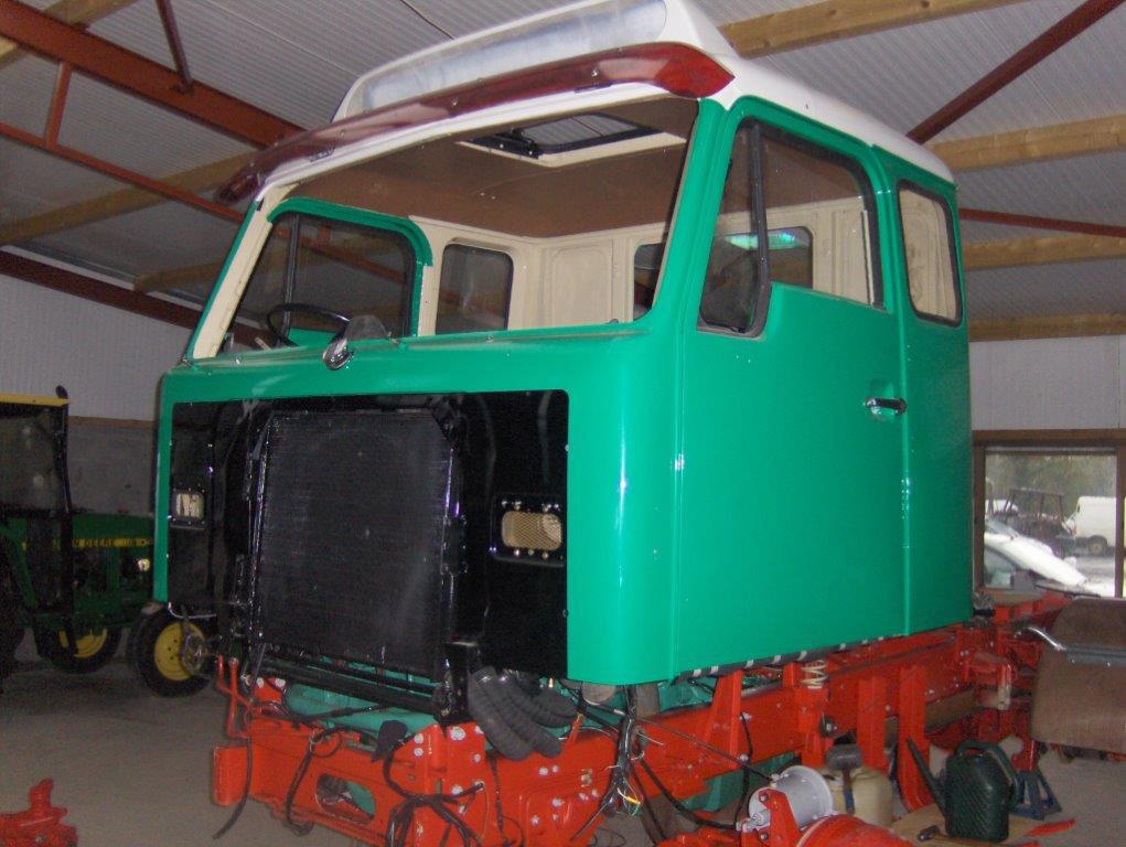 Volvo Truck Restoration - mid V29