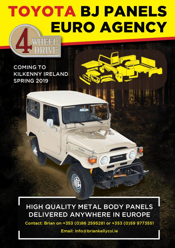 Toyota BJ40 Body Panels Europe Ireland
