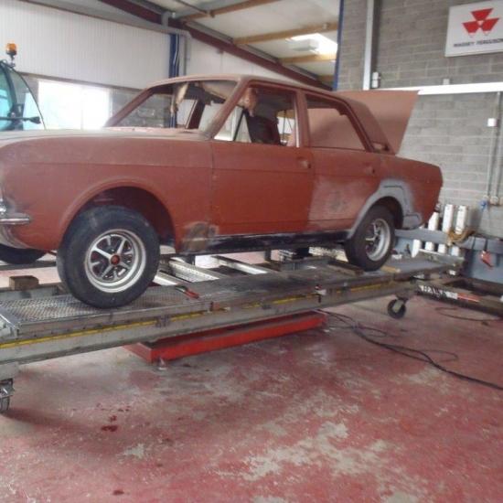 Mk2 Cortina Restoration