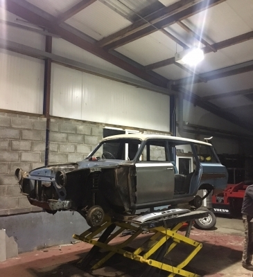 Mk1 Cortina Estate Restoration