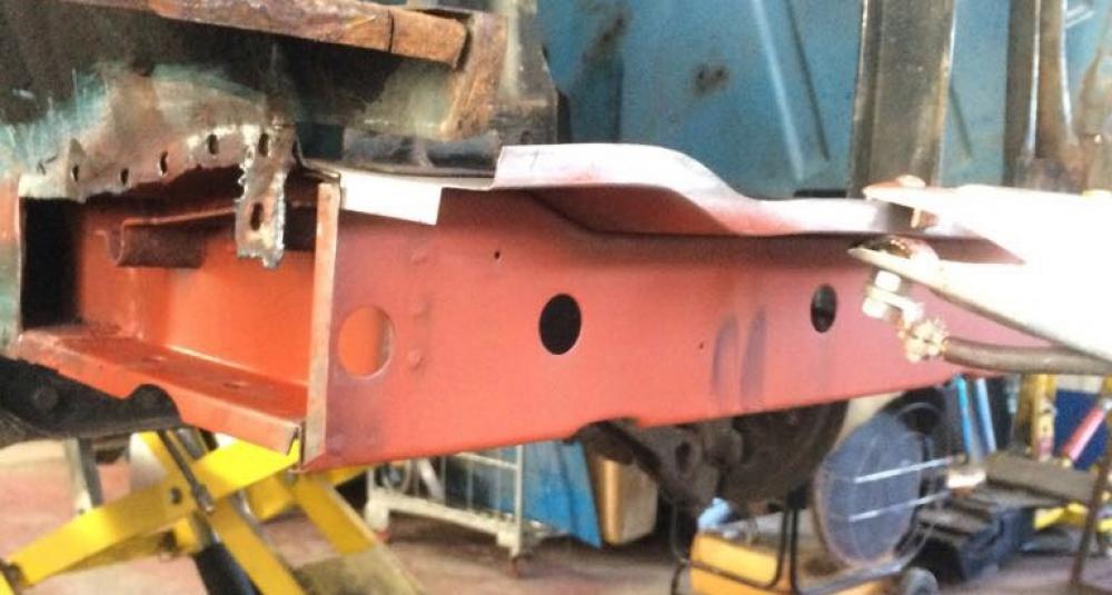 Ford Cortina Mk1 Car Restoration - Misc2