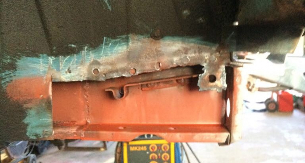 Ford Cortina Mk1 Car Restoration - Misc3