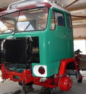 Volvo Truck Restoration